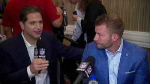 Los Angeles Rams head coach Sean McVay explains why he wasn't in the coaches photo [Video]