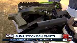 Federal bump stock ban starts today [Video]