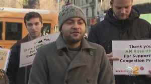 Congestion Pricing Supporters Rally In Manhattan To Include Measure In Budget [Video]