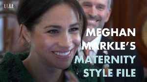 Meghan Markle's Maternity Style [Video]