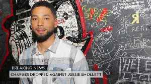 News video: Charges Dropped Against Jussie Smollett After He's Accused of Staging Hate Crime