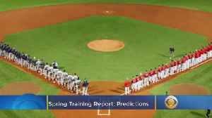 Spring Training Report: Opening Day Almost Here [Video]