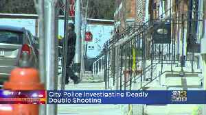 City Police Investigating Deadly Double Shooting [Video]
