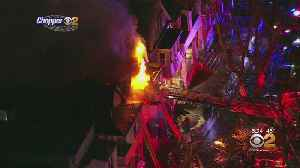 Jersey City Fire Spreads To 3 Homes [Video]