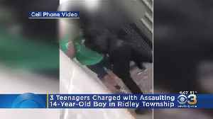 3 Teens Charged For Assaulting 14-Year-Old Boy In Ridley Township [Video]