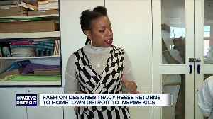 Fashion designer Tracy Reese aims to inspire Detroit Public Schools Community District students [Video]