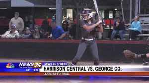 High School Softball: Harrison Central vs. George County [Video]