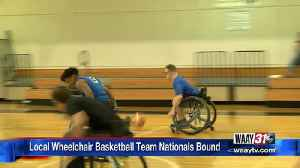 Wheelchair basketball team nationals bound [Video]