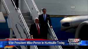 Vice President Mike Pence in Huntsville Today [Video]