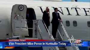 Mike Pence in Huntsville Today [Video]