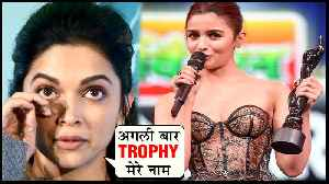 Deepika Padukone APOLOGISES To Fans For Losing Against Alia Bhatt [Video]