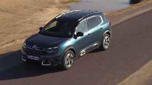 Citroen C5 Aircross SUV in Tijuca blue Driving Video [Video]