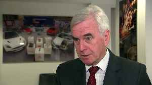McDonnell: Labour still committed to honour referendum result [Video]
