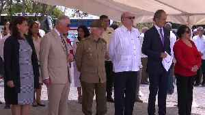 Prince Charles inaugurates solar energy project in Cuba [Video]