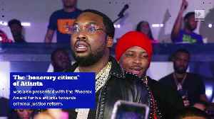 Meek Mill Honored With His Own Day in Atlanta [Video]