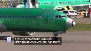 Boeing 737 Max Groundings Lead to Many Canceled US Flights [Video]