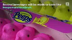 Dunkin' Donuts Introduces Peeps-Flavored Coffee and Donuts [Video]