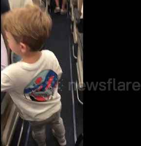 'I am a lucky mother!' Boy, 3, introduces himself to passengers on Southwest flight [Video]