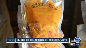 New study finds more people are going to ER after consuming edibles [Video]