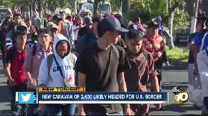 New caravan of 2,600 likely headed for U.S. border [Video]
