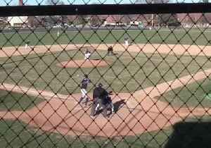 Triple Play Lights Up College Baseball Game in Indiana [Video]