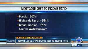 Report looks at mortgage debt to income ratio [Video]
