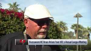 Tampa Bay Buccaneers head coach Bruce Arians breaks down Bucs' offense after offseason moves [Video]