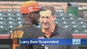 San Francisco Giants CEO Suspended [Video]