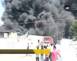Fire breaks out at thermacol factory in Greater Noida [Video]