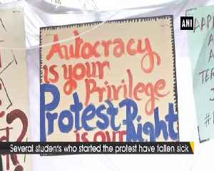Hunger strike of JNU students enters 9th day [Video]