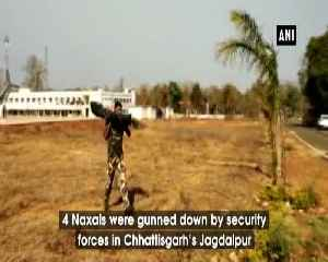 4 Naxals killed in encounter with security forces in Chattisgarh [Video]