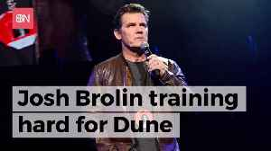 Josh Brolin Is Pumping Up For Dune [Video]