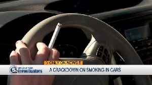 Ohio proposing to ban in-car smoking when driving with young children on board [Video]