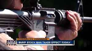 Bump stock owners now face risk of felony, effective Tuesday [Video]