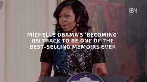 Michelle Obama Is About To Become A Mega Author [Video]