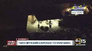 Two officers possibly exposed to fentanyl [Video]