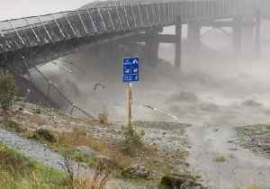 Surging Storm Washes Away Bridge in New Zealand's South Island [Video]