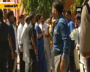 Priyanka Gandhi arrives at Lucknow airport [Video]