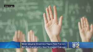 W. Va.'s Governor Signs Free Tuition Bill For Community And Technical Colleges [Video]