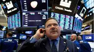 News video: Wall Street opens flat as global growth worries persist