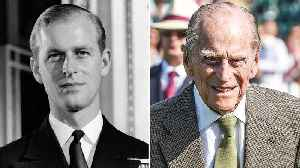 Prince Philip's Changing Looks! [Video]