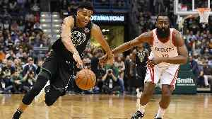 Should Giannis Antetokounmpo or James Harden Win the NBA MVP? [Video]