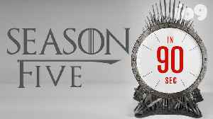 Game of Thrones Returns: Everything That Happens In Season 5 [Video]