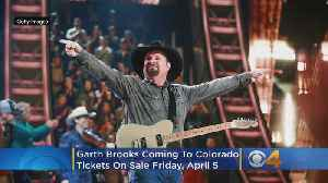 Garth Brooks Playing Broncos Stadium At Mile High This Summer [Video]