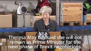 Theresa May offers to step down once Brexit deal is approved [Video]