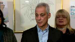 Mayor Emanuel Says 'Nothing Adds Up' After Jussie Smollet Charges Dropped [Video]