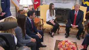 News video: White House Tells Russia to Stop Supporting Maduro While Welcoming Venezuelan Opposition Leader's Wife