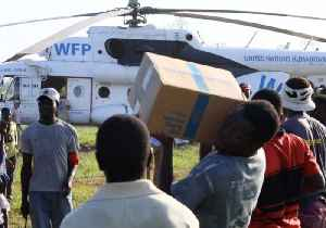 WFP Personnel Carry Out Relief Operations via Helicopter in Flood-Stricken Mozambique [Video]