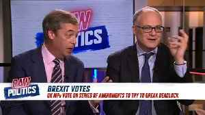 Raw Politics: MEPs debate EU leaders' critiques of Brexit solutions [Video]