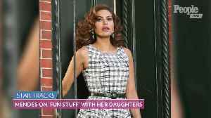 Eva Mendes Opens Up About Fashion, Her Two Daughters, and Date Nights with Ryan Gosling [Video]